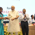 PM @narendramodi conferring the Awards for Excellence in Public Administration on #CivilServicesDay at Vigyan Bhawan http://t.co/RlMHTKy7lq