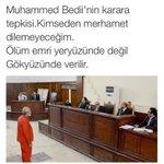 Mursiye 20 yıl hapis cezası Bediiye idam cezası.. Türkiye üzerinde oynanan oyunları görmek isteyen Mısıra baksın http://t.co/yBUOa3sS1d