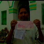 Mathura (UP): Compensation cheques issued to farmers by UP Govt bounce. http://t.co/tVFp6HDJ6a