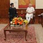 Catholicos and Supreme Head of India Orthodox Church, Baselios Marthoma Paulose II calling on PM Shri @narendramodi http://t.co/w0Re2dz11V