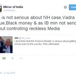 @PMOIndia @AmitShahOffice @narendramodi these are serious allegations & in sync with public perception. http://t.co/us9Bw79qzV