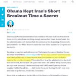 """""""If you like your 1-yr breakout time..."""" #Iran Obama then: https://t.co/XpC6ZevJPD Obama now: http://t.co/Xza8s4dcFw http://t.co/9g6QSx7KtP"""