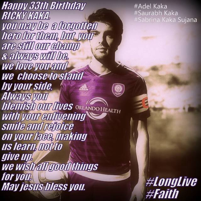 happy birthday ricky i wish for you all the best in your life.god bless you.i wish to see you happy all time
