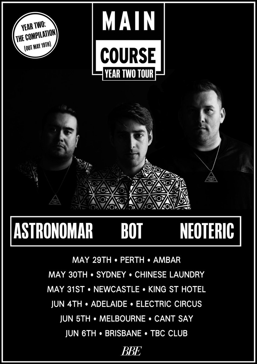 Australia May 29th - June 7th with my dudes @astronomar & @bot106 via the @BBETOURS fam! Legends, LETS GO!! http://t.co/NWBLRgNnZz