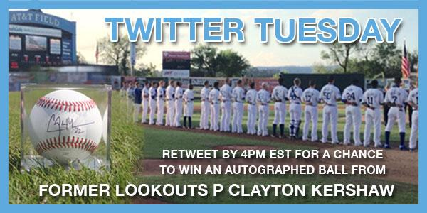TWITTER TUESDAY is back! Retweet by 4pm for a chance to win an autographed ball from 2014 NL MVP Clayton Kershaw! http://t.co/UOWnjPUBei