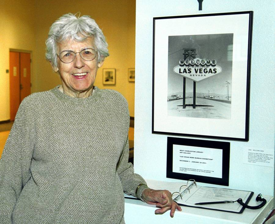 Betty Willis, designer of the Las Vegas welcome sign, dies at 91 http://t.co/xnv3ne1Ive http://t.co/pkrMFVD3Je