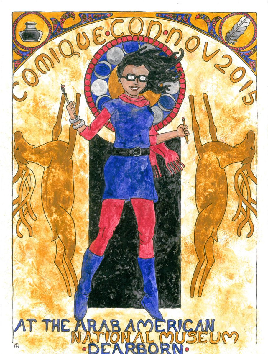 We are proud to host the first-ever Con devoted to women creators @ComiqueCon http://t.co/mj9AOlfSrd @womenoncomics http://t.co/umZ5ewPjQV
