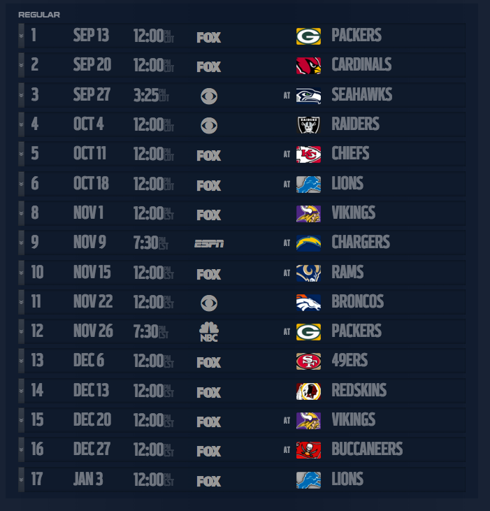 Your 2015 Bears schedule http://t.co/wrwrufRAMk
