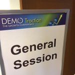 Setting up for tomorrow #DEMOTraction http://t.co/SbmwaCoe0P