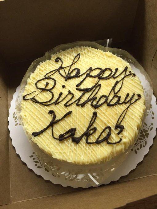 Happy birthday, Kaka! From São Paulo to Milan, from Madrid to Orlando, you are always the same.