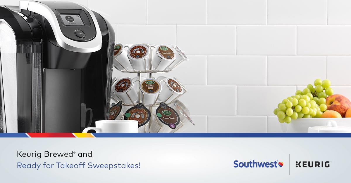 Enter for a chance to win a Keurig brewer & a $5,000 @SouthwestAir gift card for Mother's Day: http://t.co/1k2cVCNAfM http://t.co/LlQqm0gLL9