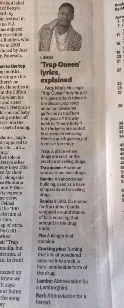When your local newspaper decodes rap lyrics lol http://t.co/5a1Asji1Qi