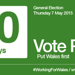 10 days left until the General Election. Put Wales first. Vote Plaid. – #WorkingForWales #GE2015 #Plaid15 http://t.co/7wuqvJOJQn
