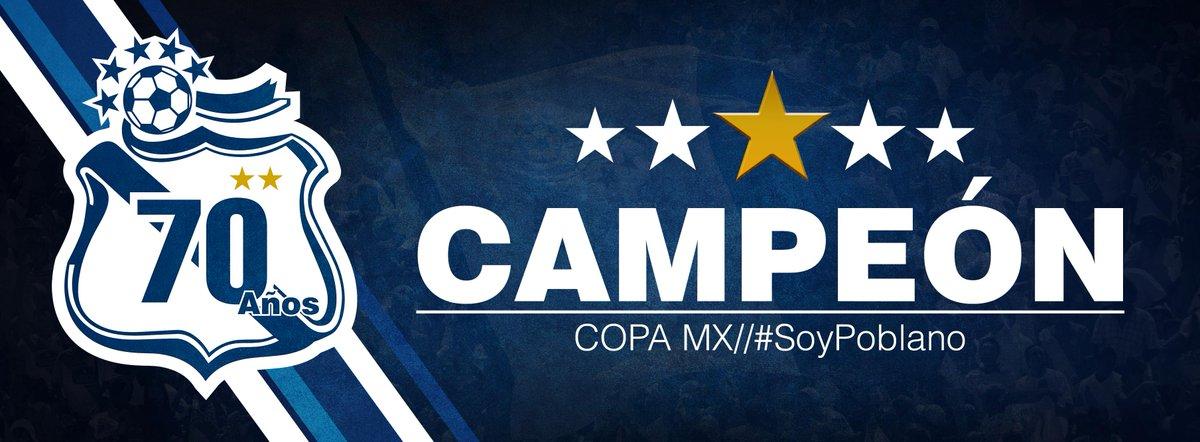 ¡¡SE ACABÓ!! Puebla es Campeón de @LaCopaMX por Quinta ocasión en su historia #SoyPoblanoDeCorazón #JuntosPodemosTodo http://t.co/lZfeun5ARn