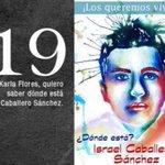 19 Israel Caballero #Ayotzinapa7Meses FueElEstado NiPerdonNiOlvido #PeñaNietoTieneQueIrse43 http://t.co/3qKBisYidB