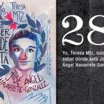 28 Jose Ángel Navarrete #Ayotzinapa7Meses FueElEstado NiPerdonNiOlvido #PeñaNietoTieneQueIrse43 http://t.co/Z7Irrir0hk