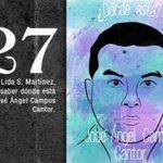 27 Jose Ángel Campos #Ayotzinapa7Meses FueElEstado NiPerdonNiOlvido #PeñaNietoTieneQueIrse43 http://t.co/ilcHZO5WwX