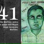 41 Miguel Ángel Hernández #Ayotzinapa7Meses FueElEstado NiPerdonNiOlvido #PeñaNietoTieneQueIrse43 http://t.co/lOMQ3KFDhp