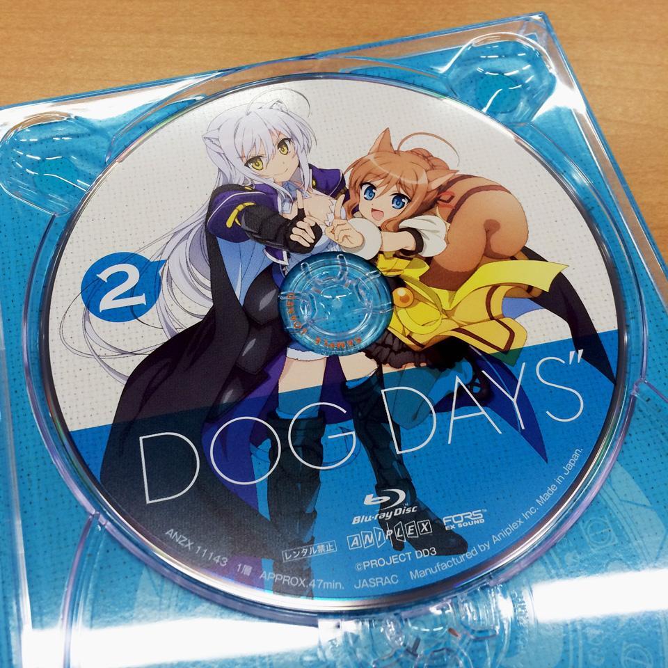 【BD&DVD②本日発売!】「依河和希さん描き下ろしピクチャーレーベル」はこちら! レオとクーベルです! この本