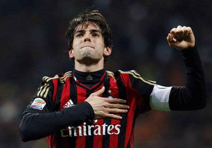 Happy 33rd birthday to Kaká. He\s scored 216 goals in 673 games during a glittering career for club and country.