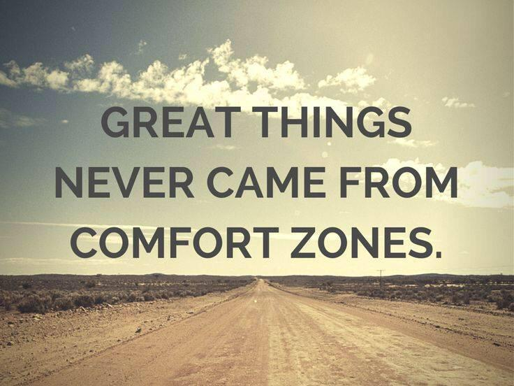 Great things never came from comfort zones. http://t.co/6vgmLyoQcy