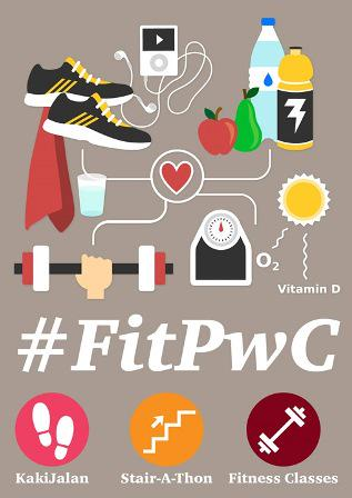 We're getting fit! Because too busy to exercise is never an excuse. #FitPwC #FitMalaysia @flopeiyee http://t.co/C0PWhXa7FA