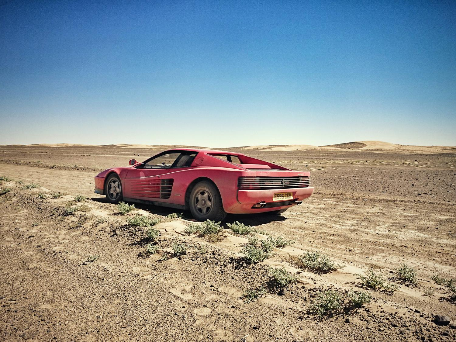 Spotted this @harrym_evo Testarossa in Morocco a couple of months back… Great feature in latest @octane_magazine http://t.co/eu0Q4T8FW0