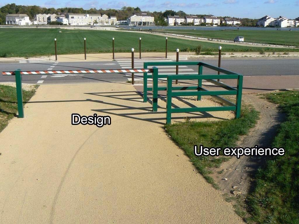 Best example ever: #Design vs. User Experience. #UX http://t.co/DvOEfohMrP
