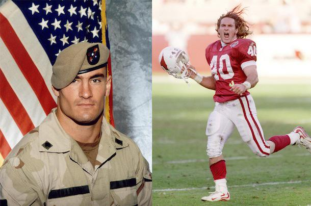 Best I was ever on the same field as... RT @ESPNNFL: On this day in 2004, Pat Tillman was killed in Afghanistan  RIP http://t.co/TNXPOmQY5G