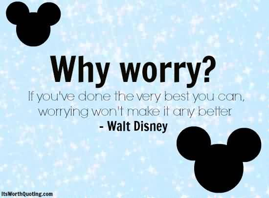 Why worry?  #finals #disney http://t.co/xUmZjGCMxg