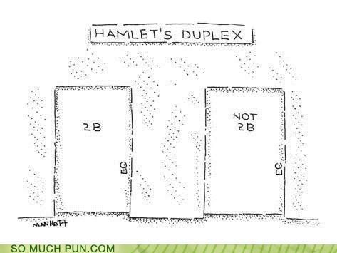 Hamlet's flat. #ShakespeareJokes http://t.co/hxUf5LjSir