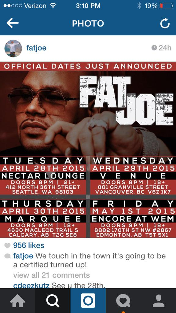 @fatjoe on tour!! #tour #fatjoe #getconquer http://t.co/VNdwElxyYv