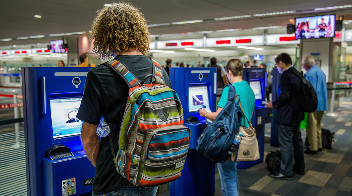RT @cjmcginnis: Passport control kiosks make debut @FlySFO via @SFGate