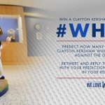 How many strikeouts will @ClaytonKersh22 have tonight? RT this tweet and reply with your prediction using #WHIFF. http://t.co/le8K7AvS2Z