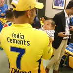 Stadium debut for ZIVA, her first time into the dressing room