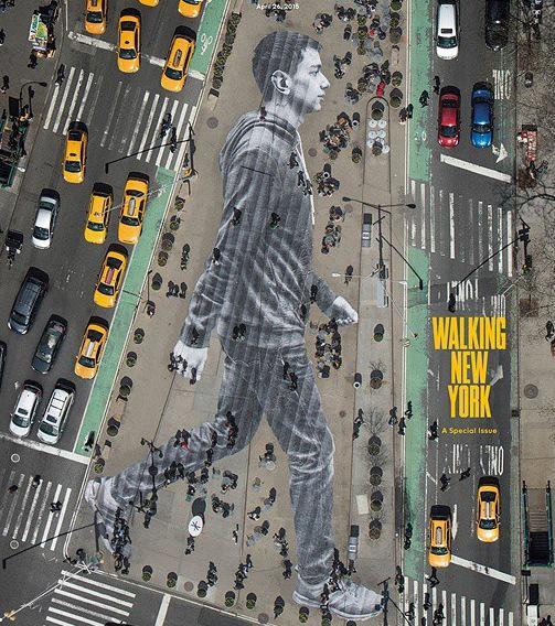 """Trop fort @JRart : @GoogleStreetArt: Amazing Street Art by JR in New York  #art #arte #streetart """""""