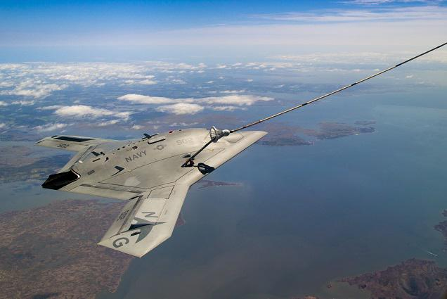 Another milestone in unmanned aviation! X-47B completes first-ever unmanned aerial refueling:
