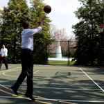 #ClimateChangeIsReal. So is President Obama's 3-point game.