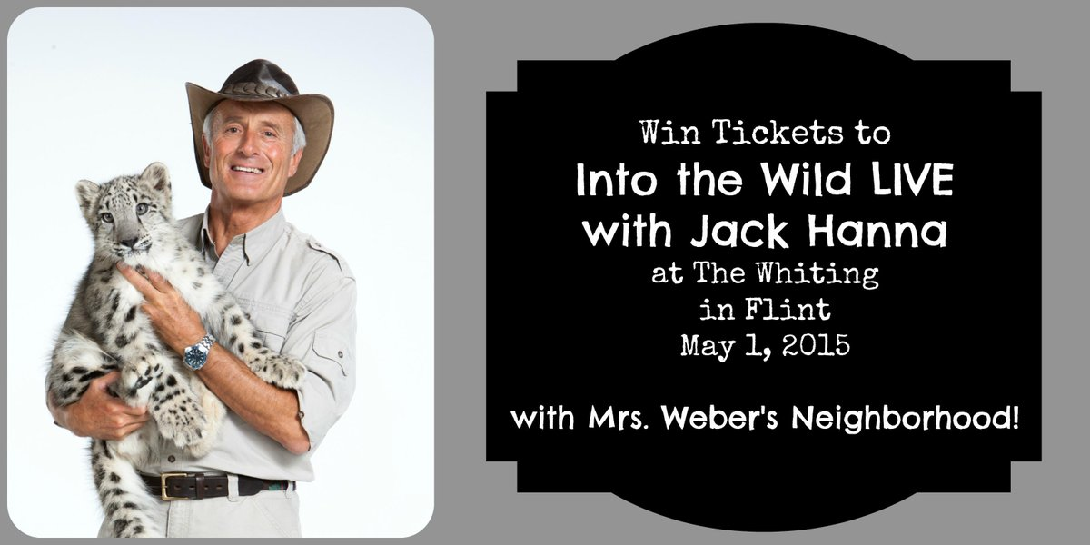 Jack Hanna is bringing his wild animal show to #Flint! Scoop + ticket giveaway: http://t.co/fg4dCHqqLb… http://t.co/SXgPyqLDpj