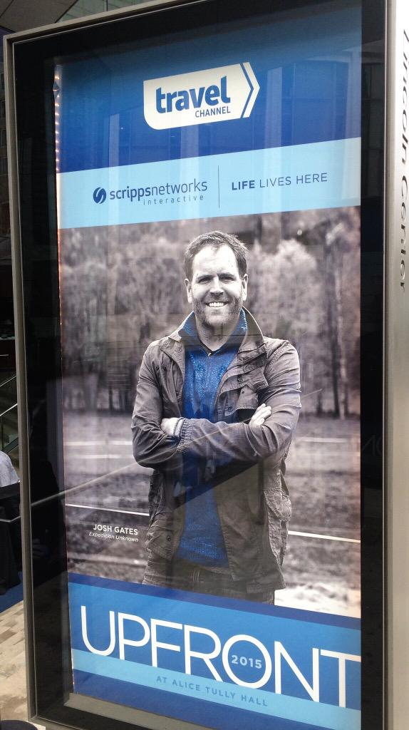 It's official! Season 2 of #ExpeditionUnknown announced at @scrippscomm @travelchannel upfronts in New York! http://t.co/OxyCJuNGBa