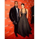 Last night at the Time 100 Gala wearing Sophie Theallet and Kanye in Haider Ackerman http://t.co/gAjvj7vu6j