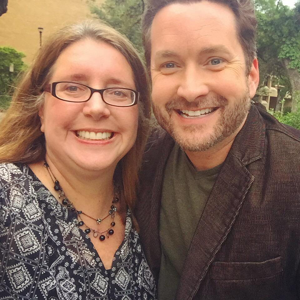 Of course I had to squeeze in a selfie with the famous @burnie #txstdigital http://t.co/b40lQWz9En