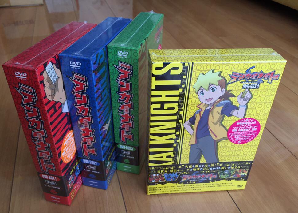 5/2発売「テンカイナイト」DVD-BOX第4巻のサンプルが届きました。これでシリーズ完結。第3巻&第4巻ブックレット掲