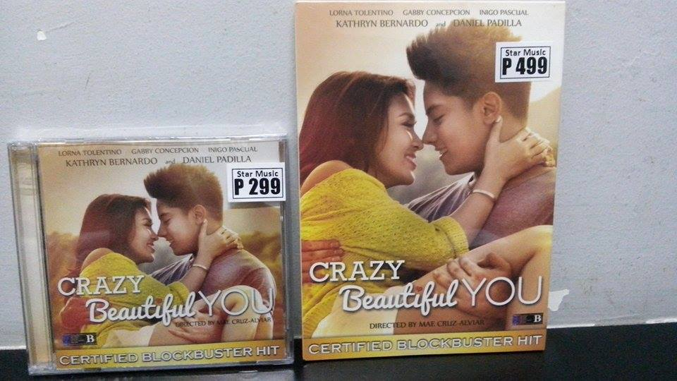 CRAZY BEAUTIFUL YOU DVD NOW AVAILABLE NA SA LAHAT ANG ASTROPLUS AND ASTROVISION STORES! FREE POSTER WHILE SUPPLY LAST http://t.co/A87xWQOlK4