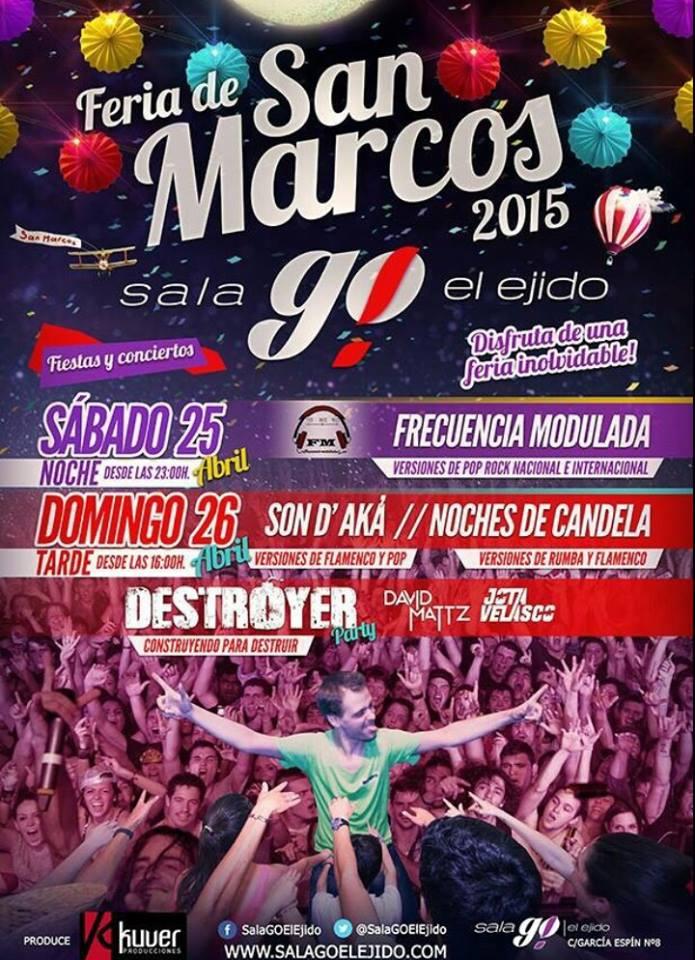 En San Jorge un libro y una rosa para las chicas. En San Marcos, ?un cd y una piruleta para los djs? http://t.co/FVHC8vz5n5