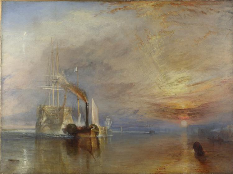 Happy birthday Turner born today (ish) in 1775. See 'The Fighting Temeraire' @NationalGallery http://t.co/DOeffZEfmB http://t.co/EF03opRW7u