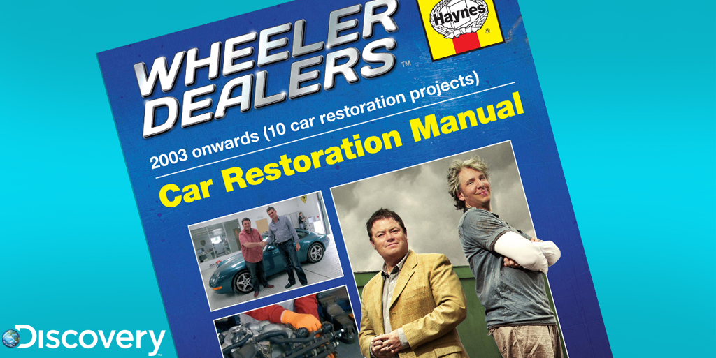 It's that time again! RT this & follow by 5pm today for a chance to win a signed @Wheeler_Dealers @HaynesManuals GO! http://t.co/oh6nvuZMtM