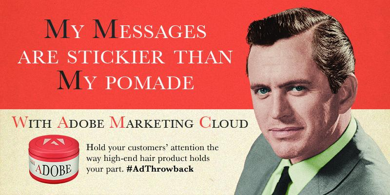 What our Tweets might have looked like during the golden age of advertising. #AdThrowback http://t.co/i0e853c1fc