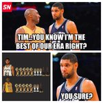 Tim Duncan and Kobe had a chat about their greatness... http://t.co/f6ecJKFuOL