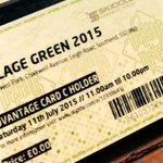 #Southend ADVANTAGE CARD C Holder? Pick up your free #villagegreen ticket from @SouthendBC http://t.co/Oun2D6ofbg http://t.co/AteCwUDiEQ